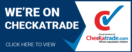 we're on checkatrade logo